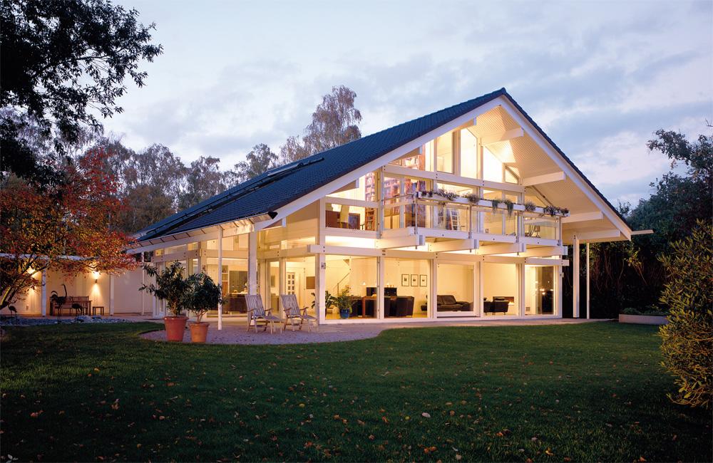 Huf haus l 39 esperienza di abitare una casa ecologica - Biancheria di lusso per la casa ...